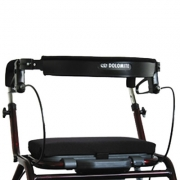 Seat pad for rollator