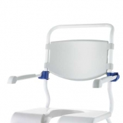 Hard backrest for Ocean shower chairs