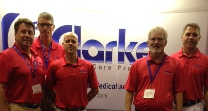 Clarke Team Photo